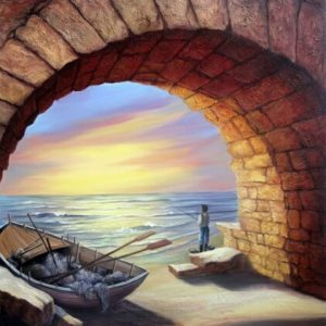 דייג בעכו 80-90 Fisherman in Acre