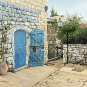 הדלת הכחולה 50-60 Blue Door