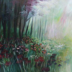 יער בפריחה 80-110 Forest in Bloom