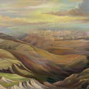 ירושלים בדמדומיה 90-150 Jerusalem at Twilight
