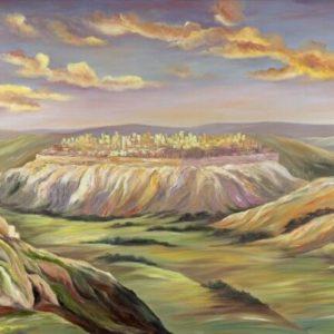 ירושלים בזריחה 100-150 Jerusalem at Sunrise