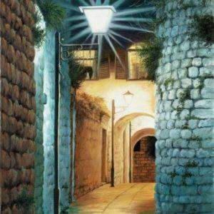 משחק אורות בצפת 50-70 Light Display in Safed