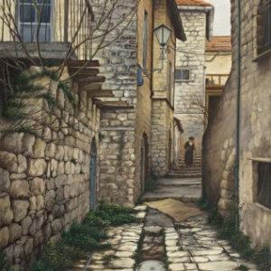 סימטה בצפת 40-60 Alley in Safed