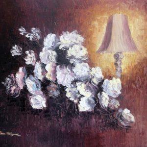 עששית ופרחים 55-70 Vase and Bouqet