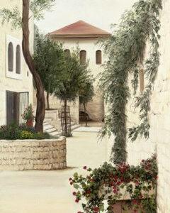 פינת חמד בימין משה 35-70 Charming Corner in Yemin Moshe