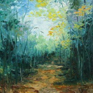 שביל ביער 40-50 Path in the Forest