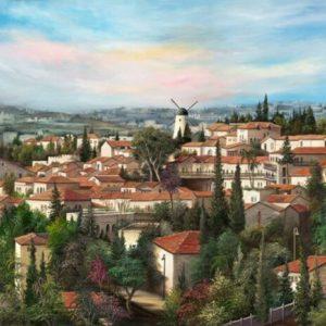 שכונת ימין משה 55-75 The Yemin Moshe neighborhood