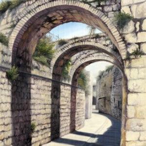 שערים בדרך לכותל 60-90 Gateways on the Way to the Western Wall