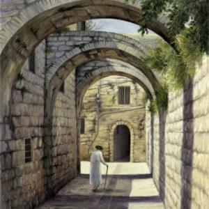 שערים ברובע 60-90 Archways in the Old City