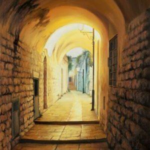 שערים מוארים בצפת 50-60 Illuminated Gateways in Tzefat