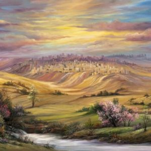 70-55 מעין מפכה בפאתי ירושלים Trickling Stream on the Outskirts of the City
