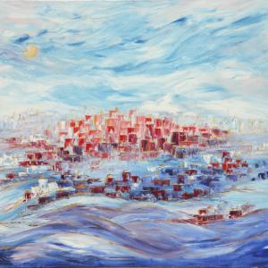 ירושלים-בכחול-70/90-Jerusalem-in-blue